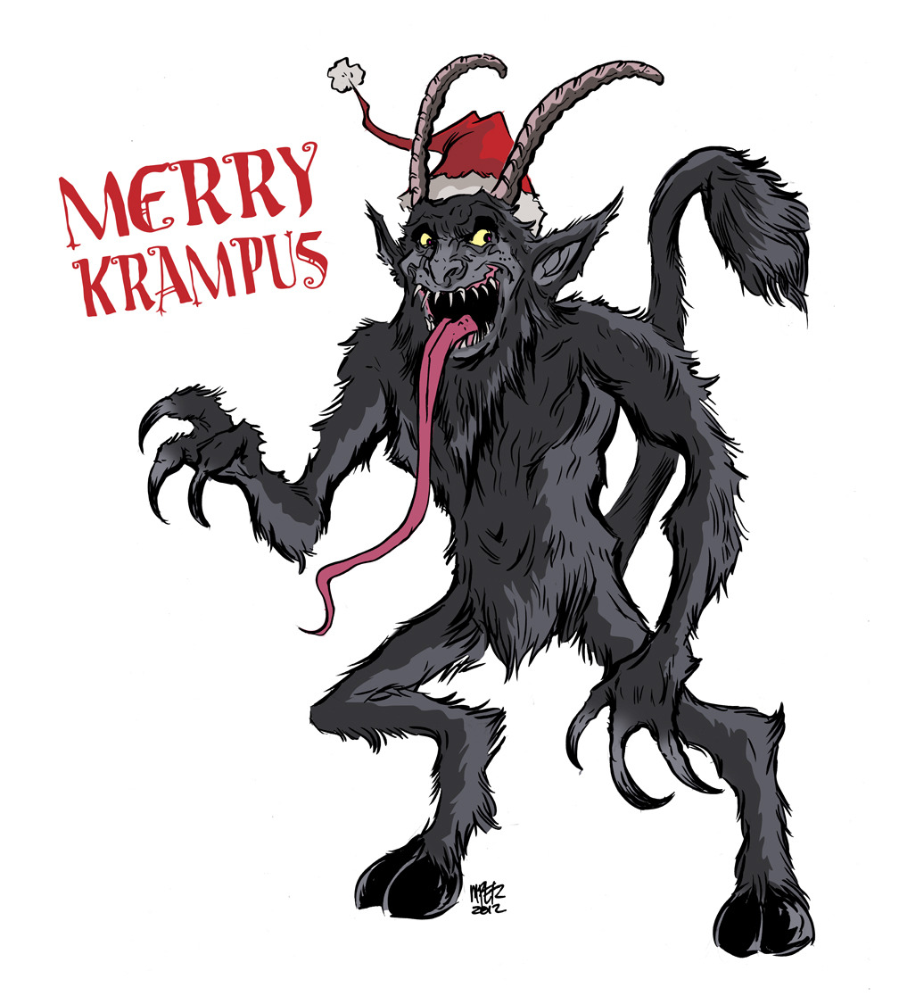 Happy holidays everyone! Look out for Krampus!  _Matthew