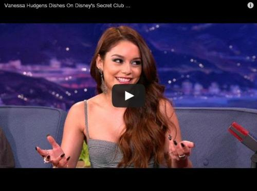 Watch Vanessa Hudgens talk about Disneyland's most exclusive toilet.