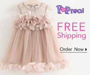 Popreal Cheap Newborn Dresses Sales