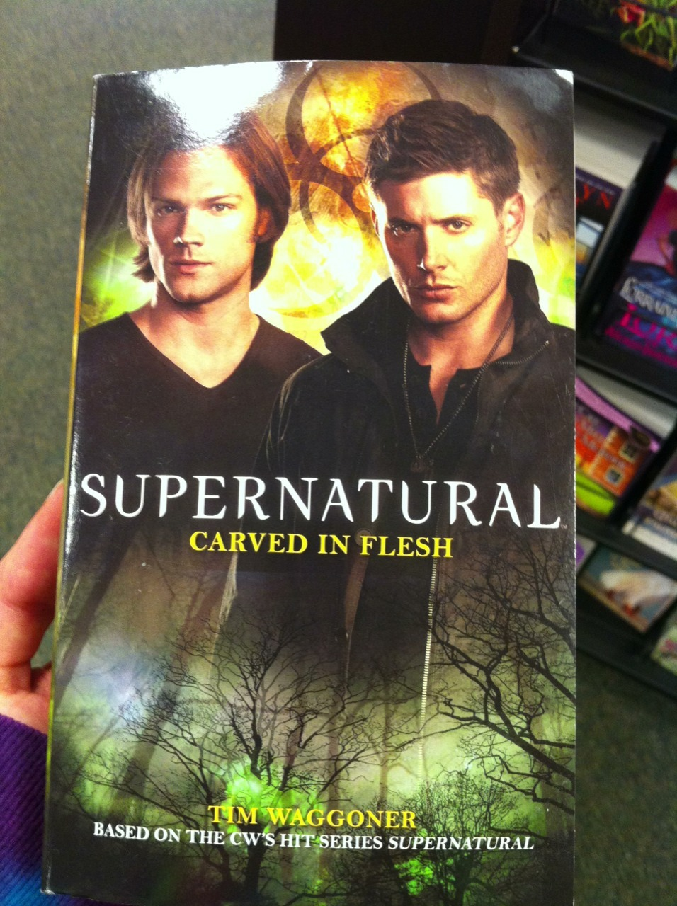 Look at what I found in Barnes & Noble.
