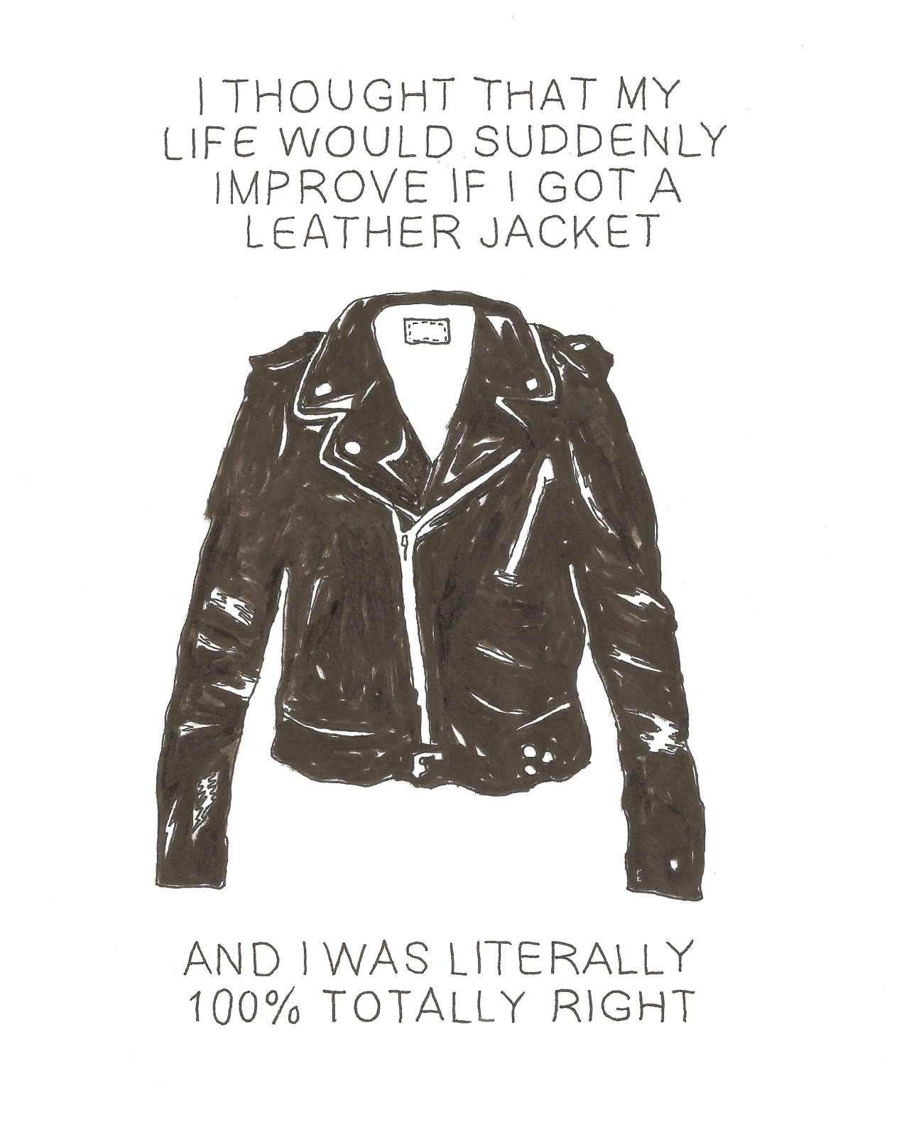 p-ores:  medleyofabsurdity:  Cassio  I seriously wear my leather jacket everyday.