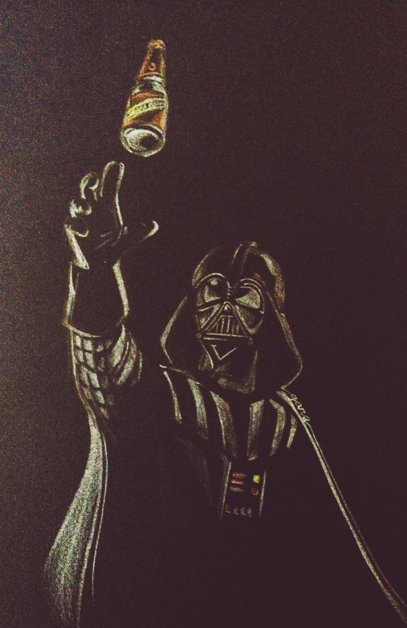 May the 4th be with you and a Happy Cinco de Mayo too! Have a Negra Modelo c/o Darth Vader ;)