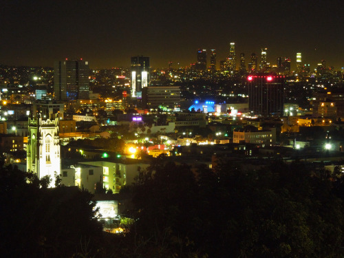 TylerclarkwiestPhoto I took, view of LA from the Yamashiro gardens.