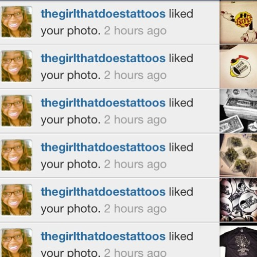 @thegirlthatdoestattoos Thank You for supporting The Company! (at FittedSole Low spot)