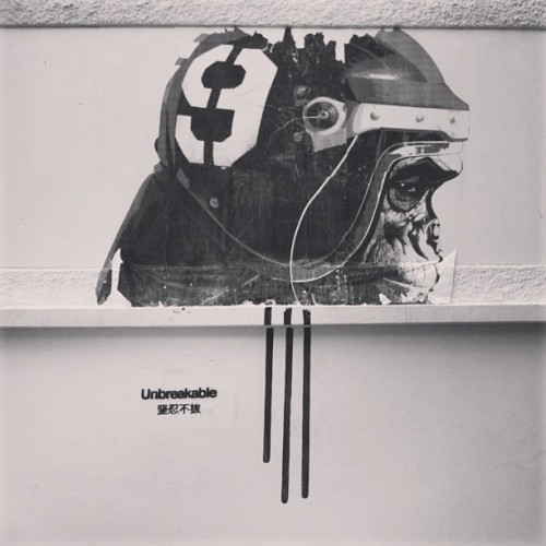 While looking for the bank…#streetart #singapore  (at Queen Street)