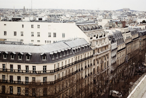 Paris, I love you. (but you're bringing me down) (by ‹ Candice Lesage Austen ›)