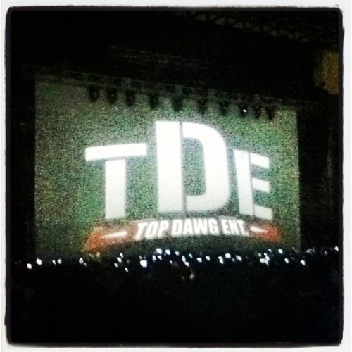 Amazing Performance by the Headliners!!! #TDE#PaidDues#paiddues2013#blackhippie