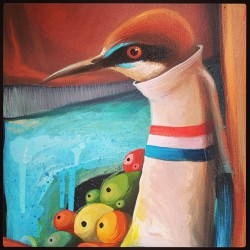 Detail of my last painting, more pics soon, #amatic #art #acrylics #birds #organics#graffiti #streetart #characters #popsurrealisme#painting #hk #hertkore#philipbosmans