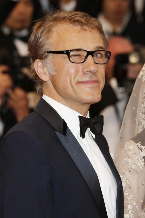 Christoph Waltz || Opening Ceremony and 'The Great Gatsby' Premiere during the 66th Annual Cannes Film Festival on May 15th 2013