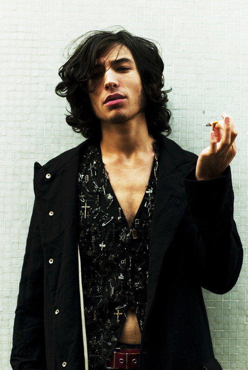 Scrolled through too much Ezra Miller so now I'm going to go smoke a cigarette