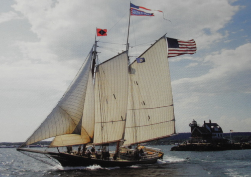 beat-to-windward:  Coasting Schooner Stephen Taber.
