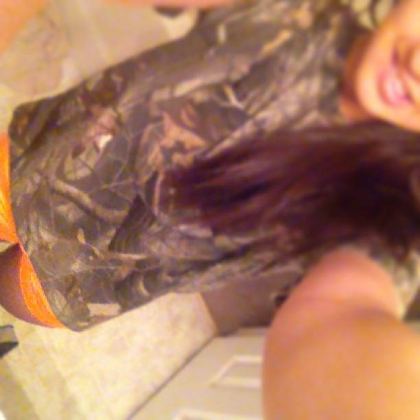 Wish I could wear spandex and big camo T-shirts to school EVERYDAY😄💜