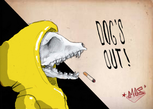 Mos / Dog'z out - illustration 2013 http://www.facebook.com/pages/MOS/433320820039055?ref=hl