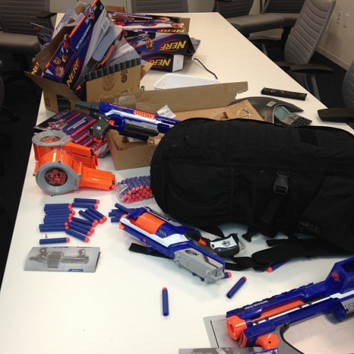Nerf Guns & more Nerf guns! (at ZS Associates TO)