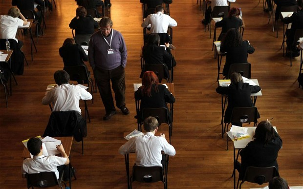 teachersworldwide:  Pupils perform better in tests if they are told the exercise is to help them learn rather than to rank them against their classmates, according to a new study.  Girls in particular benefit from seeing tests as an opportunity for learning rather than a competition, in subjects where they traditionally lag behind boys.   Presenting exams as part of the curriculum, rather than an exercise in comparing pupils against one another, could make them more effective and help teenagers reach their full potential, experts said.   Researchers from Clermont Université in France studied the best method of setting tests in science lessons – a subject where girls are often reported to score lower marks than boys. (via Tests 'should not rank pupils against one another' - Telegraph)