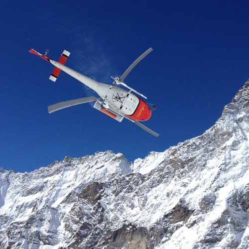 No words needed #heliboarding (at Matterhorn)