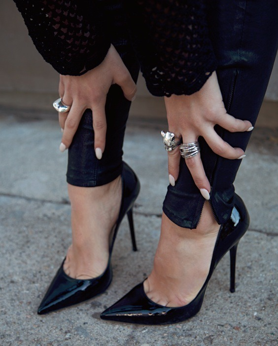 Those Nails. Those Shoes.
