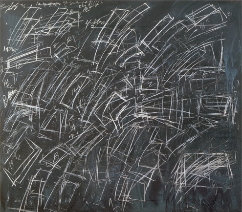 heathwest:  Cy Twombly Untitled, 1968 Oil and crayon on canvas  60 x 68 in.