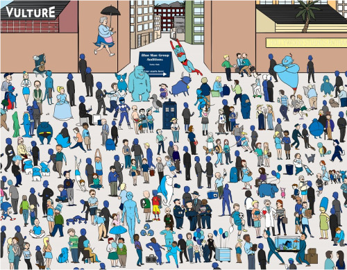popculturebrain:  Vulture Kicks off 'BLUTH'S CLUES' Contest with 'Where's Tobias?' Game  YAY! I helped make this although I did not draw it. Isn't it lovely?