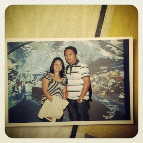 Pahabol sa #throwbackthursday 2008, kababalik from vacation sa pinas. Dubai Aquarium.