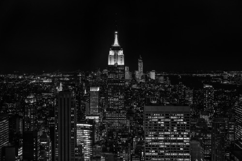 northlightone:  The Empire State building at night
