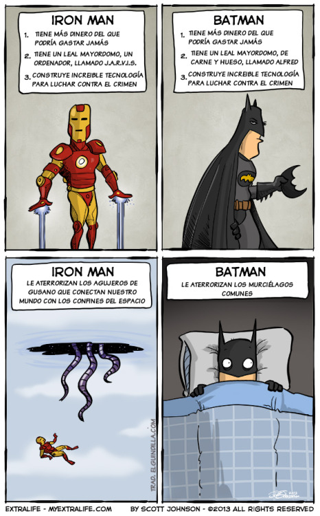 Iron Man vs Batman