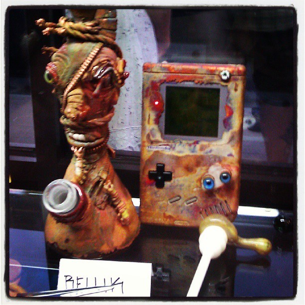 Electroformed Gameboy