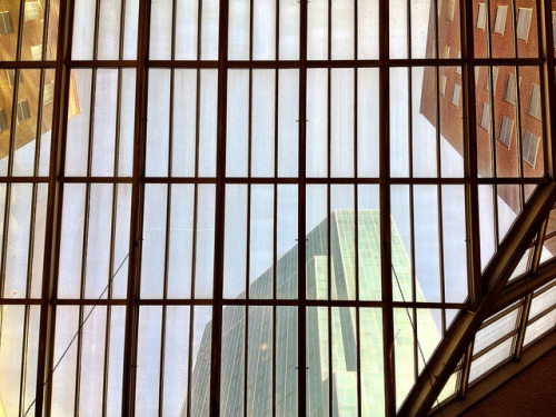 The skylights at the Hilton Fort Worth. #AIsmc on Flickr.