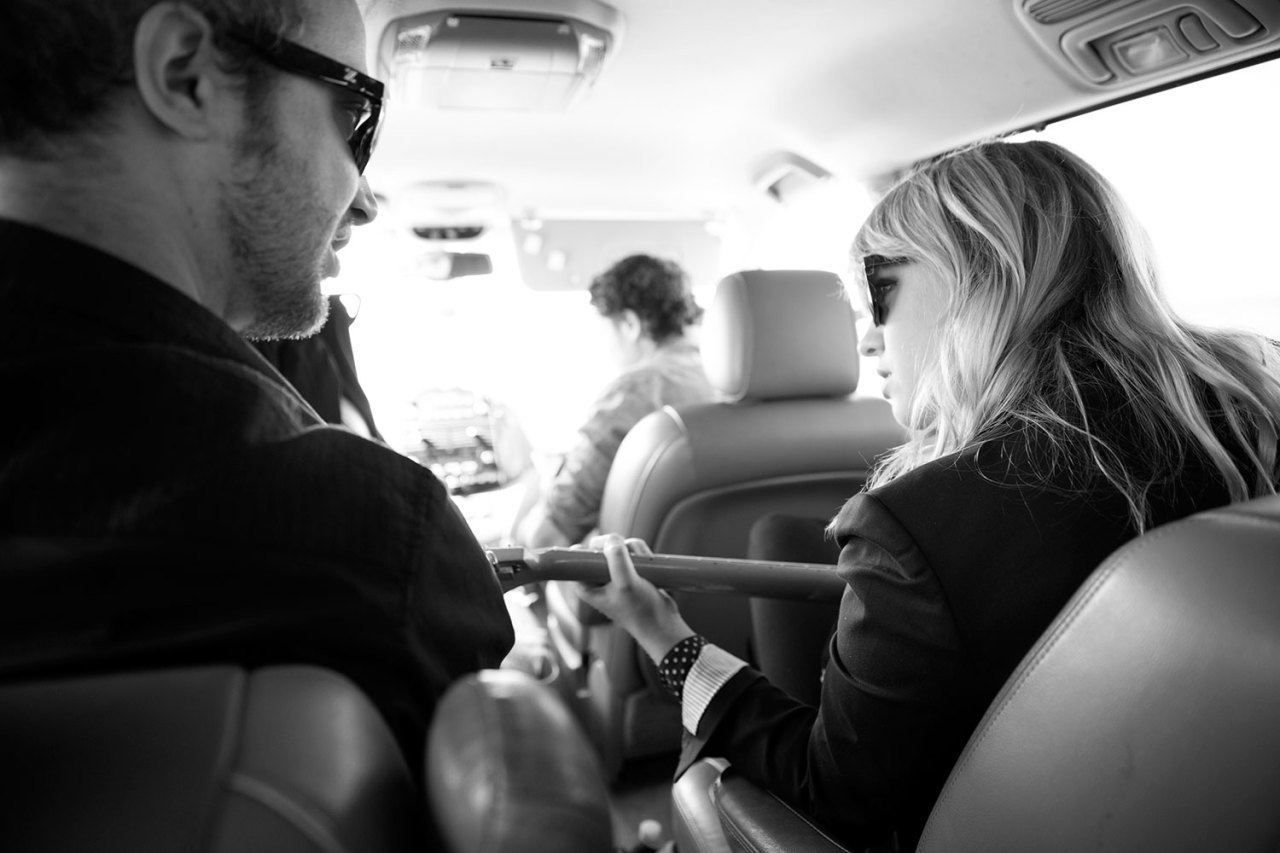 Enroute to Austin. Alexz Johnson plays SXSW in Austin, TX. March 14, 2013.