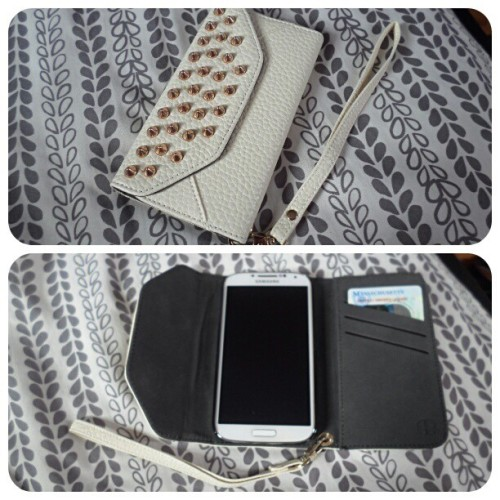 Bought another phone wallet :) #loveit #galaxys4