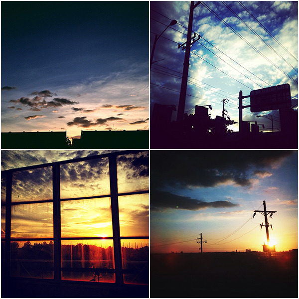 Life Through Instagram I: Sunsets