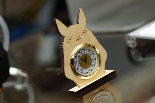 blazerdesigns:  blazerdesigns:  Totoro Clock Giveaway Hey everyone! Sorry I've been MIA for the past couple months, my Black Friday sale kept me busy fulfilling orders since! But now I'm back and introducing my redesigned website at blazerdesigns.net along with my new friend Totoro! You can purchase him here. Prize One(1) Totoro Clock Rules Reblog this post once for an entry to win Likes/follows do not count, but appreciated ^^ Giveaway ends February 8th, Friday at 11:59pm PST Winner will be announced February 9th, Saturday To-to-ro? You're Totoro! Good luck everyone :3  Giveaway ends tonight, I'll be announcing the winner tomorrow!