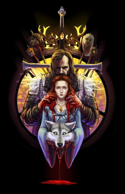 Game of Thrones: The Blood Maiden by ~Gone-Batty Also available as a tee & prints on Society6: