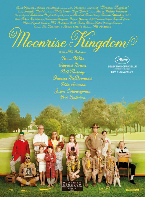 Moonrise Kingdom (2012)   Director: Wes Anderson Writers: Wes Anderson, Roman Coppola   I'm no fan of Wes Anderson but this was engaging and kind of sweet. Reminded me of Son of Rambow really but i think I'm alone in that. It does have the same feel good factor and luckily enough it doesn't play up a sound track to influence your emotions like most crap that is shown. It is questionable that IMDB wanted to call 2 twelve year old's 'young lover' in its synopsis. That isn't Anderson's fault; i guess he wanted to make a quirky film for adolescents who want more than CGI kung fu or whatever. He does have the qualities of an auteur in his work (or the few I've seen) with the framing of the shoots and how he gets the actors to perform. He looks to be greatly influenced by french new wave and eastern European cinema.   quotes: Walt Bishop: Our daughter's been abducted by one of these beige lunatics!
