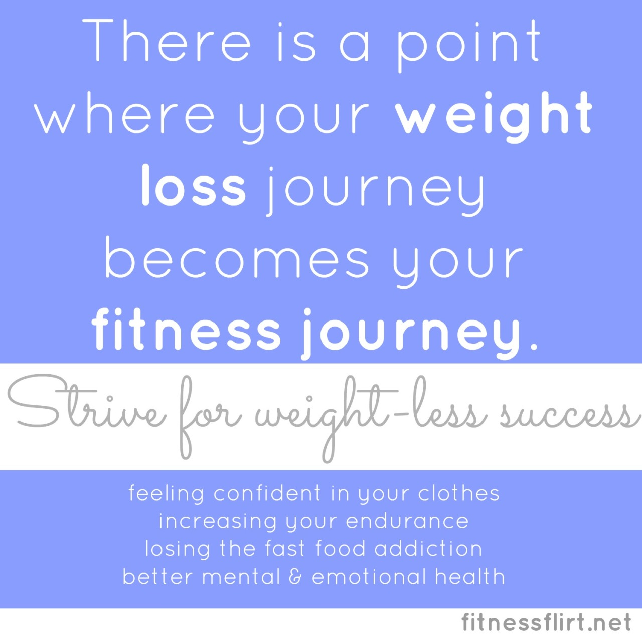 It takes some time but it will happen. There is a fitness metamorphosis that usually takes 5 steps. Where are you on your journey