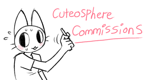 cuteosphere:  Commissions! I'm doin' em!! 1 Character, with simple background: $35Example 2 Characters, detailed, with a large VERY DETAILED background: $95Example Add another character to the image: +$10 If you're interested please feel free to contact me via icecreamkatana[at]googlemail.com! If you want to help me out but you can't afford a commission, reblogging and helping get word out would also be appreciated!! Thank you!  yay cute art, go commission her!!
