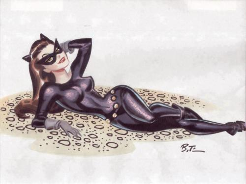 Catwoman by Bruce Timm . My links, click to see more (follow me): Catwoman / Jim Lee / DC COMICS  / . French speakers & DC Lovers, go to  : www.dcplanet.fr