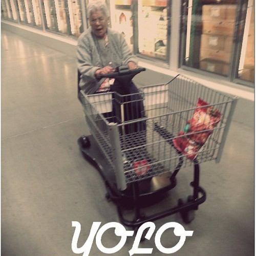You Only Live Once #yolo #grandmainaracecar