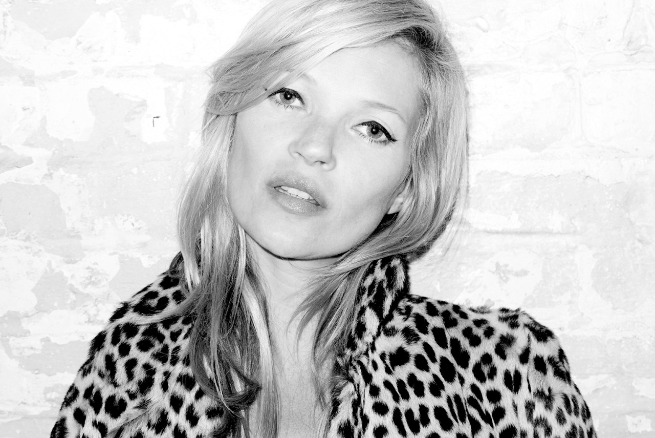 terrysdiary:  Kate Moss at my studio #8