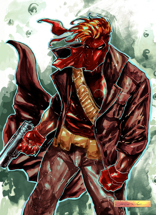 Grifter // artwork by J.C Grande (2011)