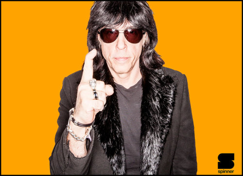 I photographed Marky Ramone last week. Watch his interview with Andrew WK , plus photo gallery on Spinner !! http://www.spinner.com/2013/04/11/andrew-wk-marky-ramone-interview/