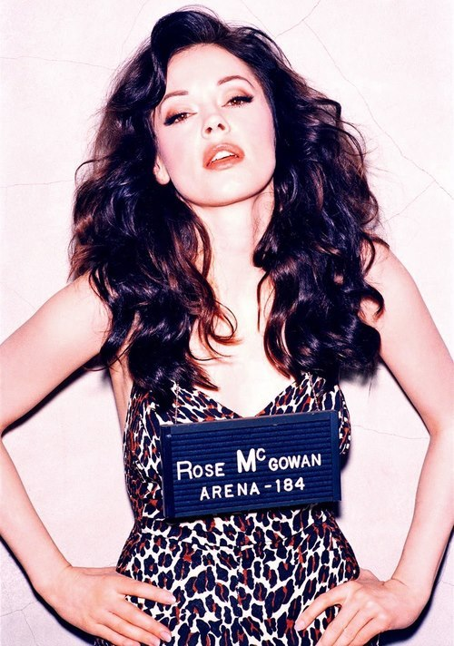 Rose McGowan…
