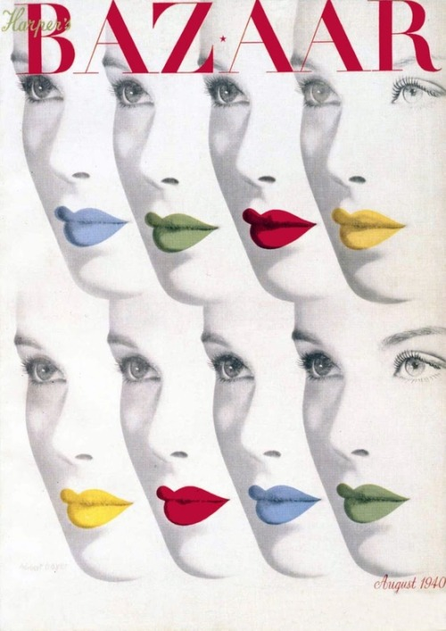 Harper's Bazaar, August 1940
