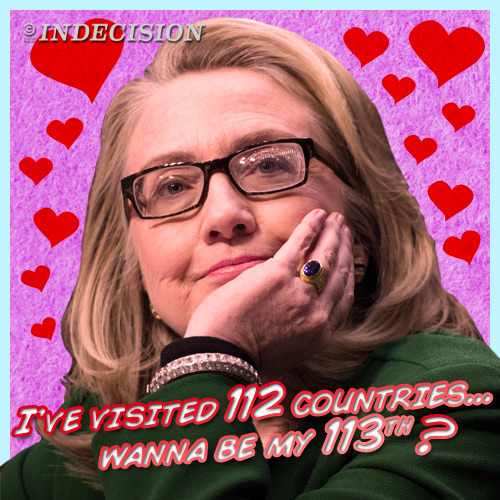 Happy Valentine's Day, Hillary fans.