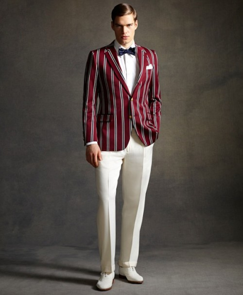 "mensfashionworld:  ""Great Gatsby"" by Brooks Brothers"