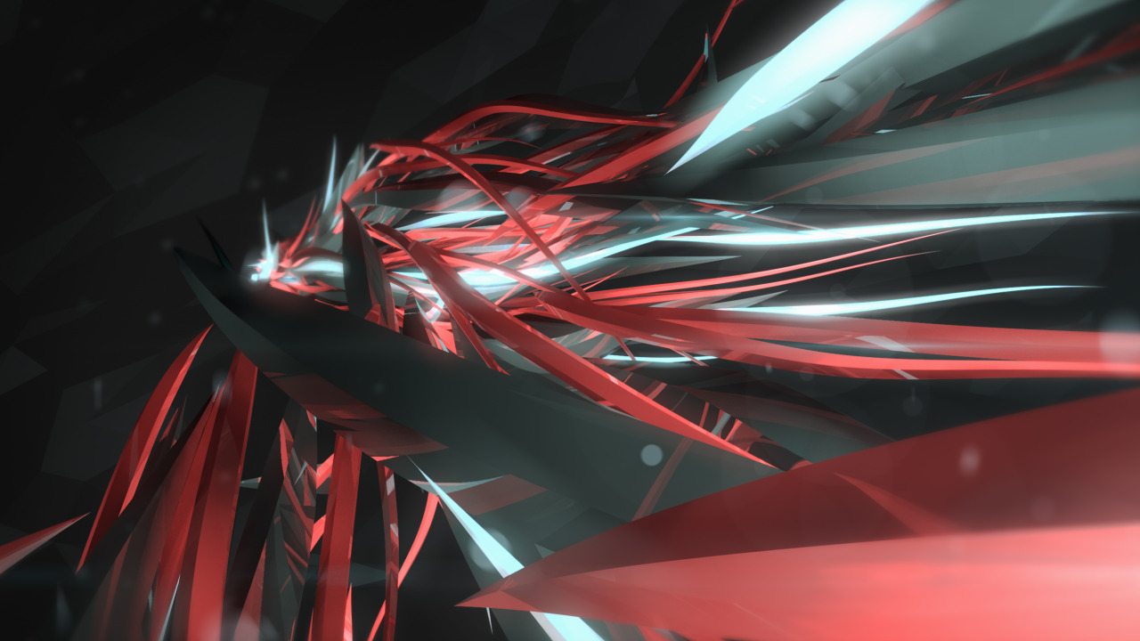 Abstract render from C4D