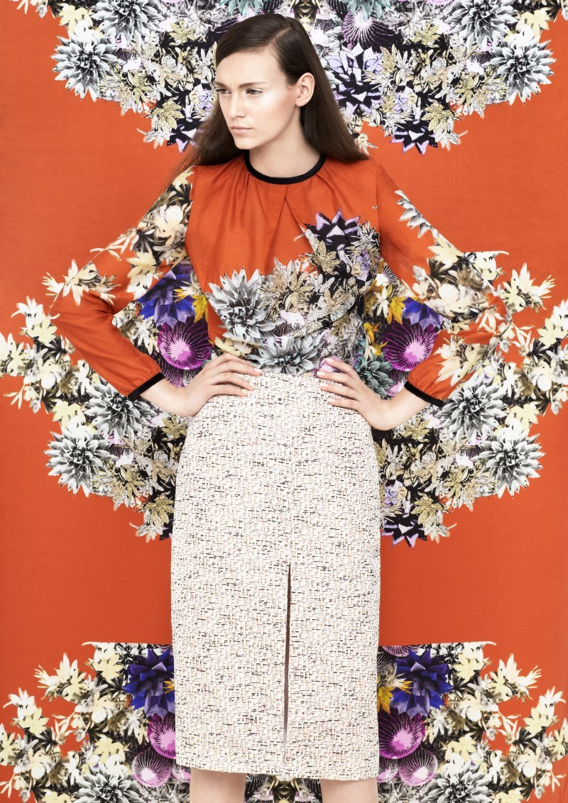 (via Blame's Spring 2013 Collection Embraces Vivid Prints | Fashion Gone Rogue: The Latest in Editorials and Campaigns)