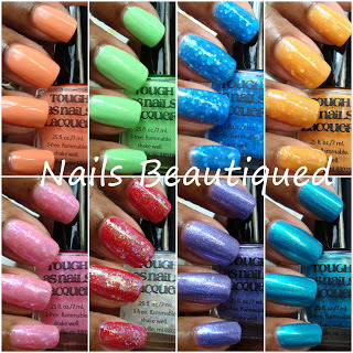 Tough As Nails Lacquer, Swatches and Review