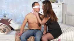 MomXXX Caroline Ardolino Blindfolded husband tied up by wife 01 04 17 720p mp4