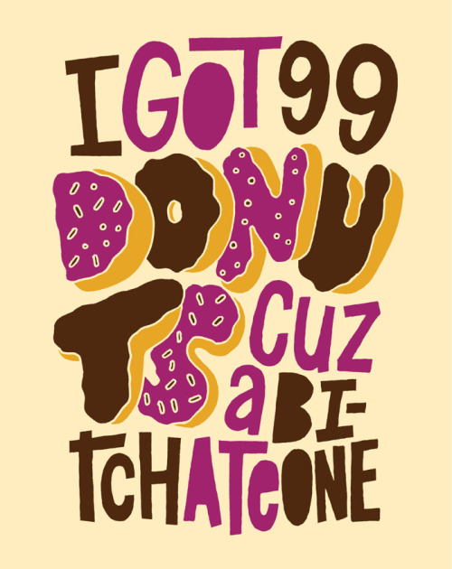 witty as fook. betype:  99 Donuts (by Jay Roeder)
